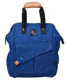 R for Rabbit Caramello Delight Backpack Style Diaper Bag - Blue