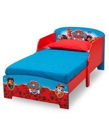 Paw Patrol Wooden Bed - Red
