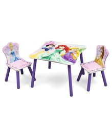 Disney Princess Table & Chair Set - Purple