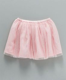 Tiara Short Party Wear Skirt - Light Pink