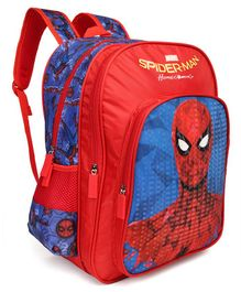 Marvel Spider Man Homecoming Classic School Bag Red - Height 18 inches