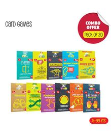 Toiing Combo Card Games - Pack of 20