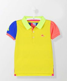 Cherry Crumble California Dazzling Polo Tee - Yellow