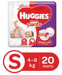 Huggies Wonder Pants Small Size Diapers - 20 Pieces