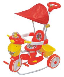 Funride Honey Bee DX Musical Rocking Tricycle - Red