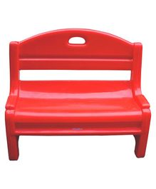 Ehomekart Two Seater Bench - Red
