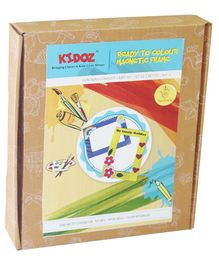 Kidoz Wooden Magnetic Frames Pack of 2 Frames - Multicolour