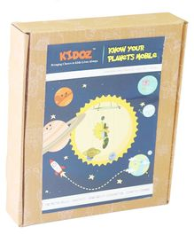Kidoz Know Your Planets Craft Kit - Multicolour