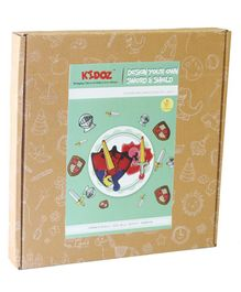 Kidoz My Sword & Shield DIY Craft Kit - Multicolour