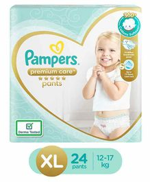 Pampers Premium Care Pant Style Diapers Extra Large - 24 Pieces