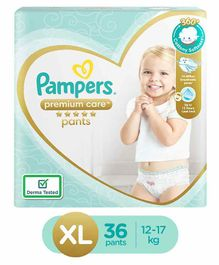 Pampers Premium Care Pant Style Diapers Extra Large - 36 pieces