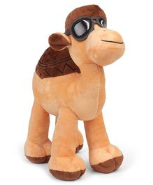 Starwalk Camel Soft Toy With Brown Cap & Glasses - Height 30 cm