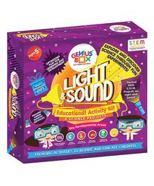 Genius Box Educational & Learning Light and Sound Activity Kit - Multi Color