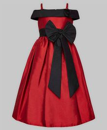 A.T.U.N Off Shoulder Gown - Red