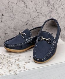 Cute Walk by Babyhug Loafers - Blue