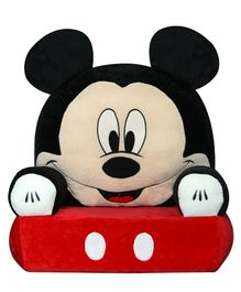 Disney Mickey Mouse Sofa Seat - Black Red