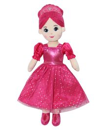 Soft Buddies Princess Candy Doll Fuchsia - Height 35.5 cm