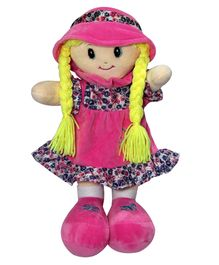 Soft Buddies Veronica Doll With Cap Pink - 30.48 cm