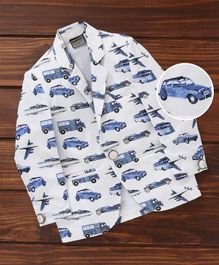 Rikidoos Vehicles Theme Blazer - White & Blue