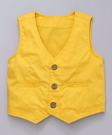 Rikidoos Waist Coat  - Yellow