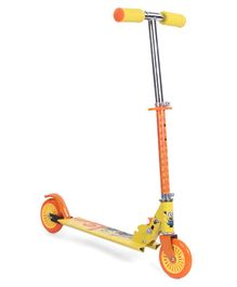 Minions Le Buddies Two Wheel Scooter - Yellow