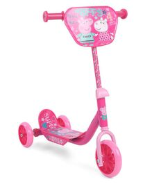 Peppa Pig Three Wheel Scooter - Pink