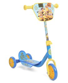 Minions Three Wheel Baby Scooter - Blue