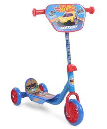 Hot Wheels Faster Three Wheel Scooter - Blue