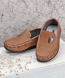 Cute Walk by Babyhug Loafers - Brown