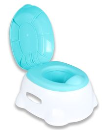Toys Bhoomi 3-in-1 Baby Commode Toilet Trainer Kit - Blue