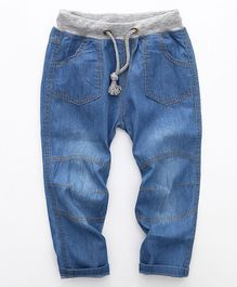 Pre Order - Awabox Denim Bottom With Front Pockets - Blue