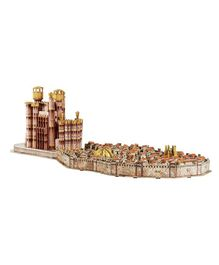 4D Cityscape Game of Thrones 3D Kings Landing Puzzle - 260 Piece