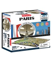 4D Cityscape Paris Time Puzzle - 1100 Pieces