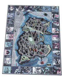 4D Cityscape Batman Mini Gotham City Jigsaw Puzzle Multicolor - 839 Pieces