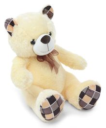 Dimpy Stuff Teddy Bear Soft Toy Cream - Height 50 cm