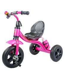 Baybee Pyroar Tricycle With Bottle - Pink