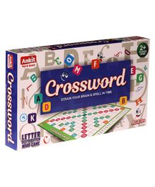 Ankit Toys Classic Crossword Board Game - Multicolour