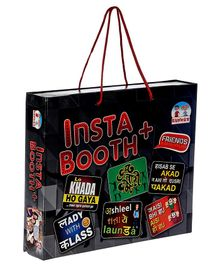Ankit Toys Birthday Party Insta Booth Props - Multicolour