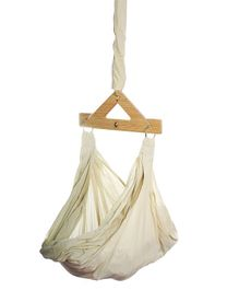 CuddlyCoo Organic Cotton Hammock With Mosquito Net - Beige
