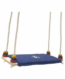 CuddlyCoo Wooden Board Swing - Brown