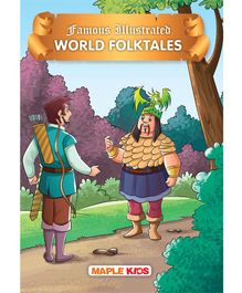 World Folktales Famous Illustrated Story Book - English