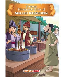 Mullah Nasruddin Tales Famous Illustrated Story Book - English