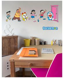 Asian Paints Wall Ons Doraemon Enter the Anywhere Door Removable Wall Sticker - XL
