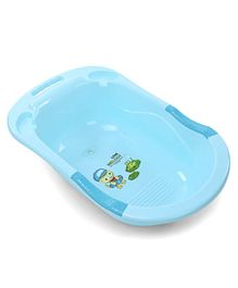 Baby Bath Tub Love Melody Print - Blue
