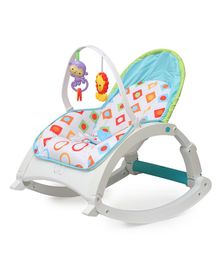 The Flyers Bay Fiddle Diddle Bouncer Cum Rocker - Multi Color