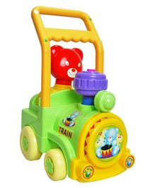 Magic Pitara Toy Train Activity Walker With Music - Green