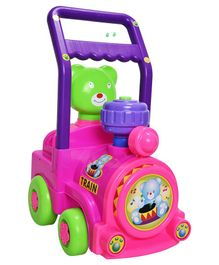 Magic Pitara Toy Train Activity Walker With Music - Pink