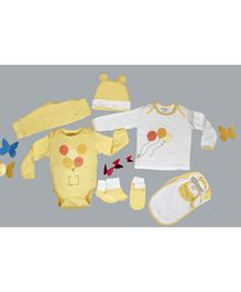 My Milestones Infant Essentials Gift Set Yellow - 8 Pieces