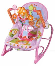 Infant to Toddler Baby Musical Rocker - Pink