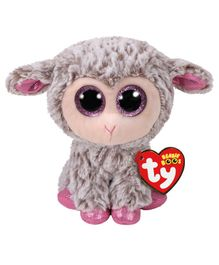 Jungly World Lamb Soft Toy Grey - Height 15 cm